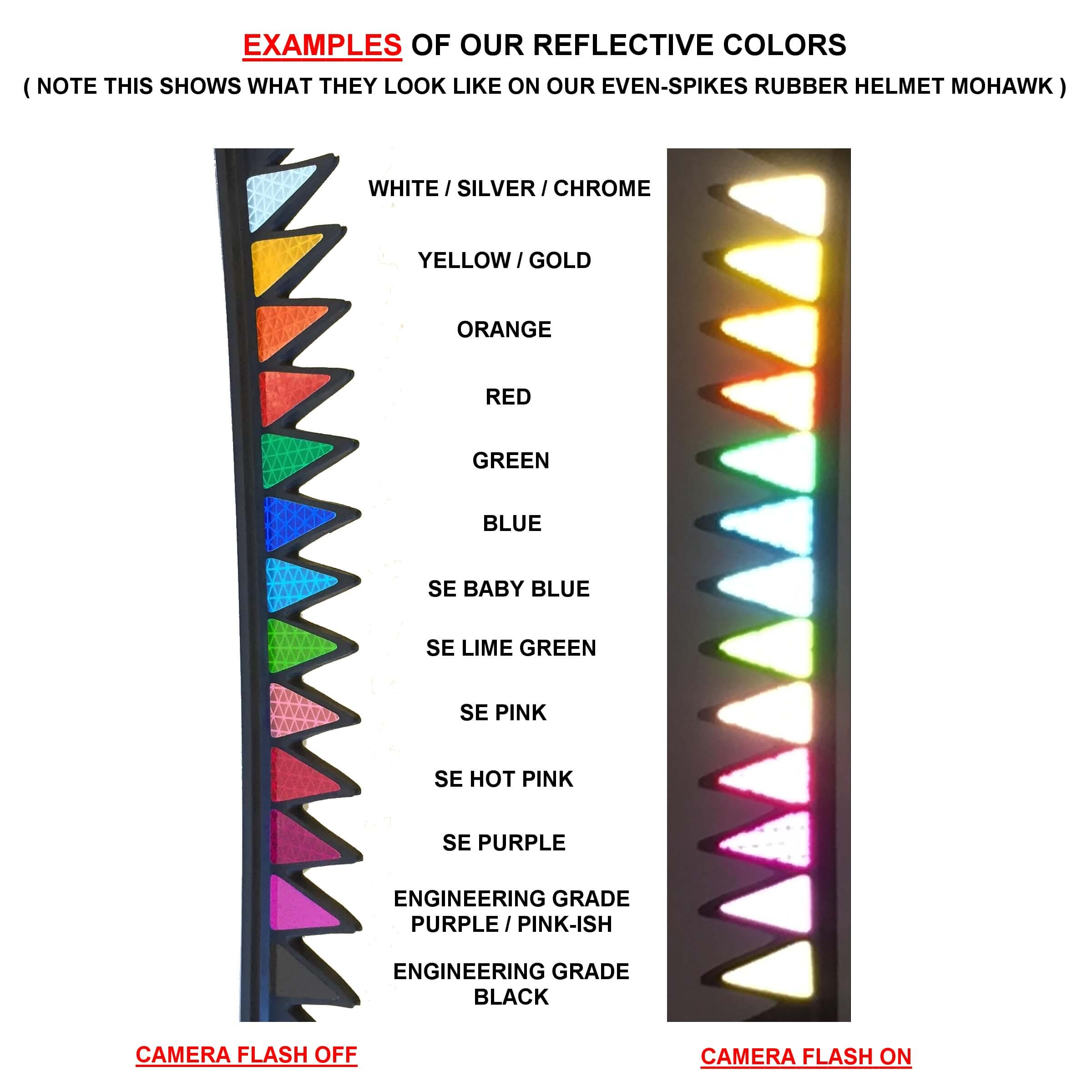 901b242b9354e Reflective Visor Decals – Many Different Styles and Colors  Customizable